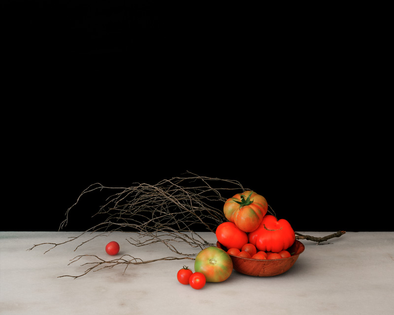 "<div class=""titre"">Simon-Vermot,Prune</div> <div class=""description"">Nature morte aux tomates <br />100 x 80 cm <br />Collection d'art BCV</div>"