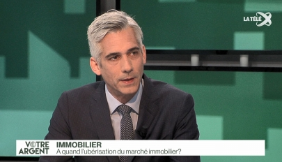 LA TELE Michaud Uberisation Immobilier